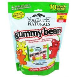 Yummy Earth Natural Gluten Free Gummy Bears 10 Pack S