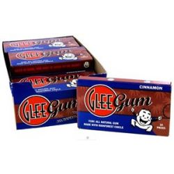Glee Gum All Natural Chewing Gum Cinnamon 16 Piece S