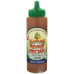 Madhava Natural Sweeteners Agave Nectar Raw 11 75 Oz