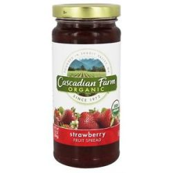 Cascadian Farm Organic Fruit Spread Strawberry 10 Oz