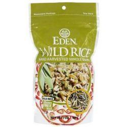 Eden Foods Wild Rice Hand Harvested Whole Grain 7 Oz
