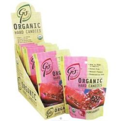 Go Naturally Organic Hard Candies Pomegranate 3 5 Oz