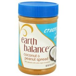 Earth Balance Coconut and Peanut Spread Creamy 16 Oz