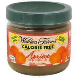 Walden Farms Calorie Free Fruit Spread Apricot 12 Oz