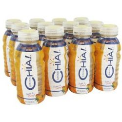 Drink Chia Whole Omega 3 Superfood Drink Mango Tangerine 12 Oz