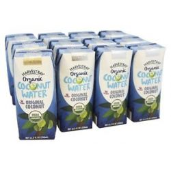 Harvest Bay Organic Coconut Water RTD Original Coconut 11 2 Oz