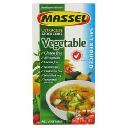 Massel Gluten Free Ultracube Stock Cubes Vegetable Style 3 7 Oz