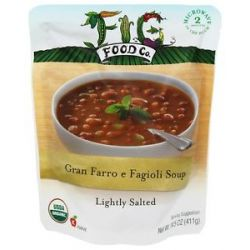Fig Food Company Organic Gran Farro E Fagioli Soup 14 5 Oz