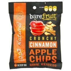 Bare Fruit 100 Natural Crunchy Apple Chips Cinnamon 0 53 Oz