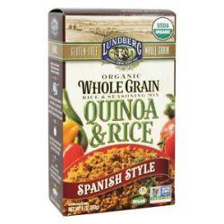 Lundberg Organic Whole Grain Quinoa Rice Spanish Style 6 Oz