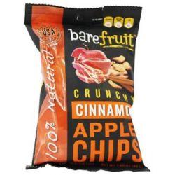 Bare Fruit 100 Natural Crunchy Apple Chips Cinnamon 1 69 Oz
