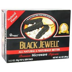 Black Jewell All Natural Microwave Popcorn 3 Bags Natural Flavor 10 5 Oz