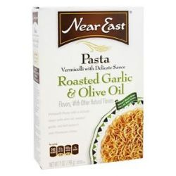 Near East Vermicella Pasta with Delicate Sauce Roasted Garlic Olive Oil 7