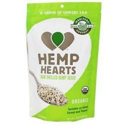 Manitoba Harvest Hemp Hearts Raw Shelled Hemp Seed Certified Organic 7 Oz