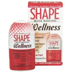 Shape Nutritional Water Boosters Wellness Natural Pomegranate Flavor 2 Oz