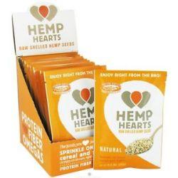 Manitoba Harvest Hemp Hearts Natural Raw Shelled Hemp Seed 12 Packet S