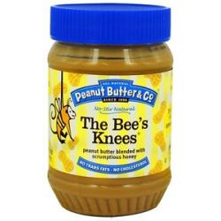 Peanut Butter Co The Bees's Knees Peanut Butter Blended with Scrumptious