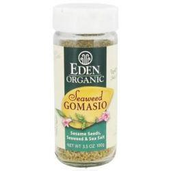Eden Foods Organic Seaweed Gomasio Sesame Seeds Seaweed Sea Salt 3 5 Oz