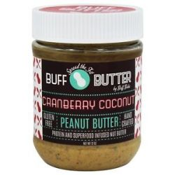 Buff Bake Buff Butter Gluten Free Peanut Butter Cranberry Coconut 12 Oz