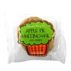 Alternative Baking Company Muffin Cookie Apple Pie with Raisins 4 25 Oz
