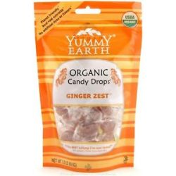 Yummy Earth Organic Candy Drops Gluten Free Ginger Zest 3 3 oz 93 5g