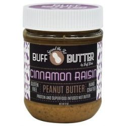 Buff Bake Buff Butter Gluten Free Peanut Butter Cinnamon Raisin 12 Oz