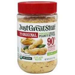 Betty Lou's Just Great Stuff Organic Powdered Peanut Butter 6 43 Oz