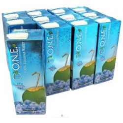 O N E Coconut Water 100 Natural Fat Free 1 Liter Unflavored 33 8 Oz