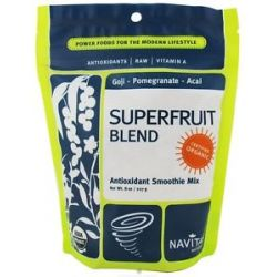 Navitas Naturals Superfruit Blend Antioxidant Smoothie Mix Certified Organic