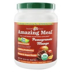 Amazing Grass Amazing Meal Powder 30 Servings Pomegranate Mango Infusion 31