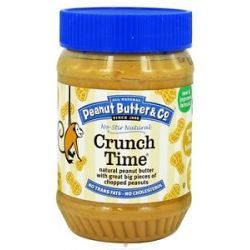 Peanut Butter Co Crunch Time Natural Peanut Butter with Great Big Pieces Of