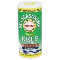 Maine Coast Sea Vegetables Sea Seasonings Organic Kelp with Cayenne 1 5 Oz