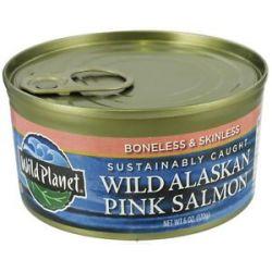 Wild Planet Wild Alaskan Pink Salmon 6 Oz
