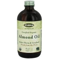 Flora Almond Oil Certified Organic 8 5 Oz