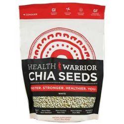 Health Warrior White Chia Seeds 16 Oz