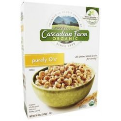Cascadian Farm Organic Cereal Purely O's 8 6 Oz
