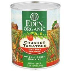 Eden Foods Organic Crushed Roma Tomatoes 28 Oz