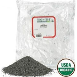 Frontier Natural Products Poppy Seed Whole Organic 1 Lb