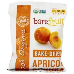 Bare Fruit 100 Organic Bake Dried Apricot Chunks 2 2 Oz