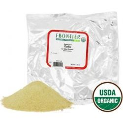 Frontier Natural Products Garlic Granules Organic 1 Lb