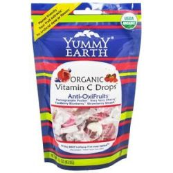 Yummy Earth Organic Vitamin C Anti Oxifruits Drops 3 3 Oz