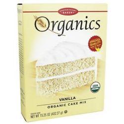 European Gourmet Bakery Organic Cake Mix Vanilla 15 25 Oz