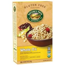 Nature's Path Organic Cereal Whole O's Gluten Free 11 5 Oz
