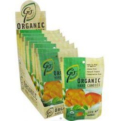 Go Naturally Organic Hard Candies Iced Mint Mango 3 5 Oz