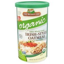 Old Wessex Ltd Irish Style Oatmeal Organic 18 5 Oz