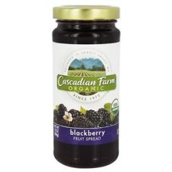 Cascadian Farm Organic Fruit Spread Blackberry 10 Oz