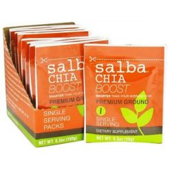 Salba Smart Salba Chia Premium Ground Boost 10 x 0 5 oz Packets