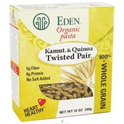 Eden Foods Organic Pasta Kamut and Quinoa Twisted Pair 12 Oz