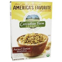 Cascadian Farm Organic Granola Cereal Ancient Grains 12 5 Oz