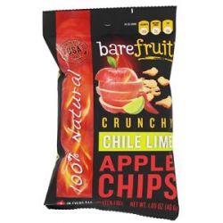 Bare Fruit 100 Natural Crunchy Apple Chips Chile Lime 1 69 Oz